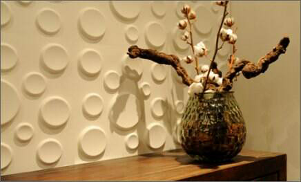 3D Bagasse Wall Panel by WallArt