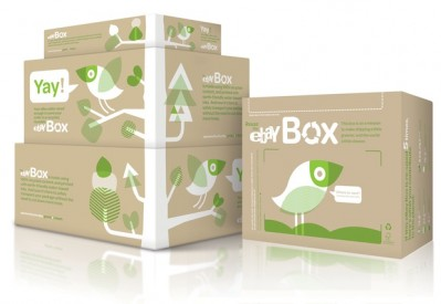 Ebay reusable sending box