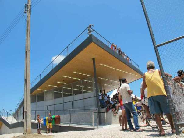 Homeless World Cup Legacy Centre in Brazil.