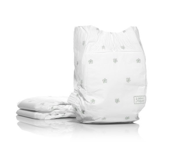 Naty nappies by Nature Babycare use natural and renewable materials.