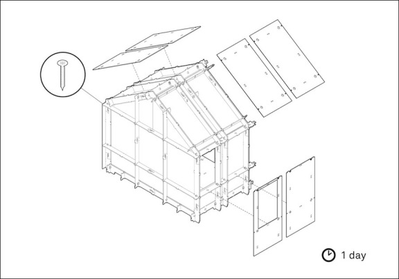Construction drawing of a Wikihome. Image courtesy of blog.ted.com