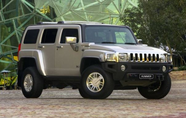 The Hummer takes less energy to produce but this is negated by its petrol guzzling and greenhouse emissions during use.