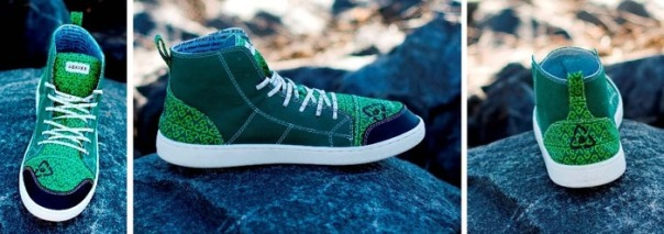 ReKixx's Green Valor high-top. Image courtesy of ReKixx.
