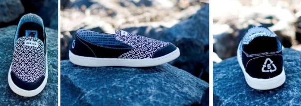 ReKixx's Convertible Black slip-on. Image courtesy of ReKixx.