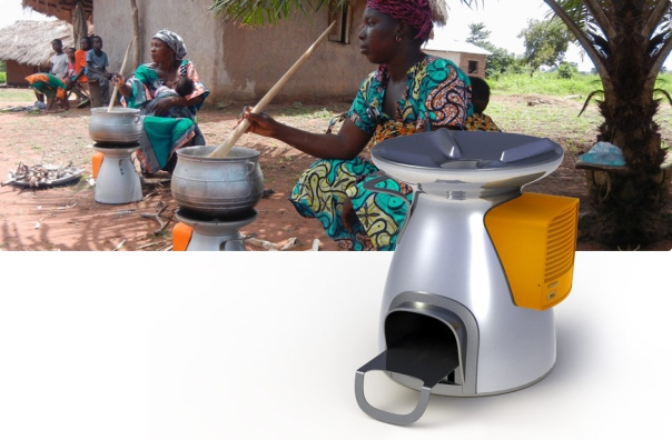The BioLite HomeStove provides a healthier and safer cooking alternative for developing countries. Image courtesy of biolitestove.com