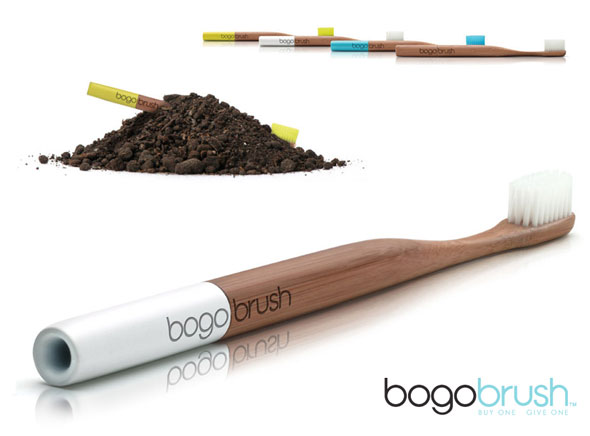 The Bogo Brush uses bamboo as its base material.