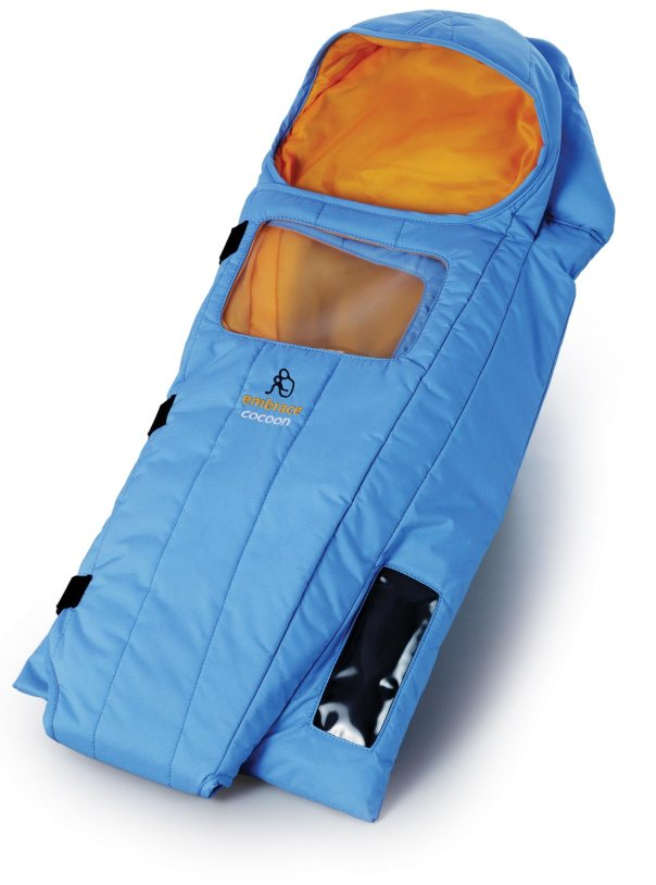 The Embrace Warmer is a low cost solution for hypothermic babies in developing regions. Image by Embrace Global.