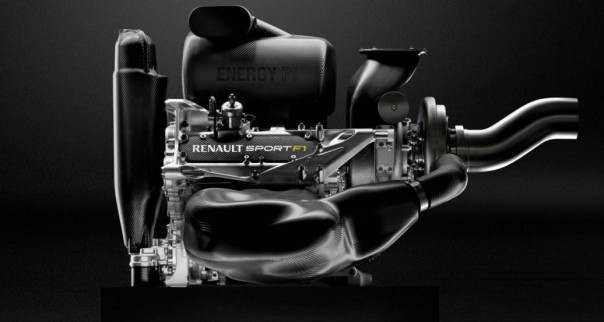 2014 Renault F1engine. Image courtesy of the MotorReport.com.au