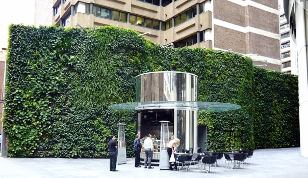 1 Bligh St in Sydney has a green wall which links to the building's 6 green star rating.