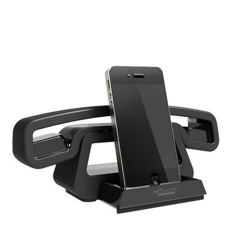 BH01i Bluetooth Handset with Speaker & Dock by Swissvoice who ackowledge their product designers. Image courtesy