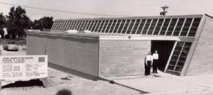 Frank Bridgers and Don Paxtons Solar House 1956